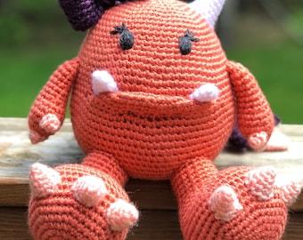 Crochet Amigurumi Girl Monster