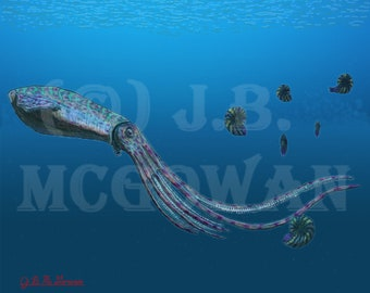 Kraken of the Western Interior Seaway