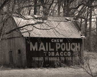 Mail Pouch Tobacco Barn - 8x10 Fine Art Photograph