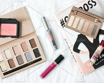 Styled Stock Photo | Beauty Blogger Flatlay | Blog stock photo, stock image, stock photography, blog photography