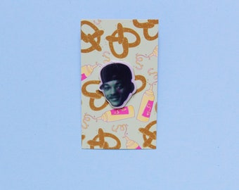 Rad 90s Inspired Will Smith Fresh Prince Shrink Film Pin
