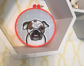 CUSTOM- made to order pet portrait