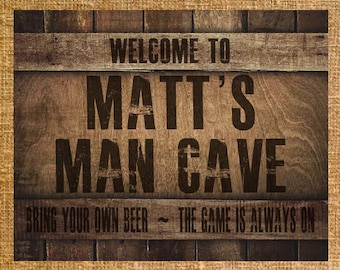 Personalized Nfl Man Cave Signs : Extraordinary man cave sign contemporary best inspiration home