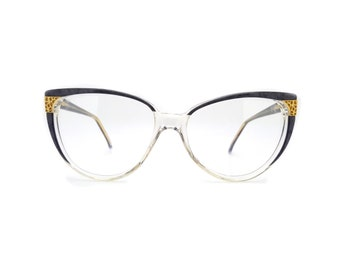 Genuine 1980s Valentino 132 18 Vintage Eyeglasses // Made in Italy // New Old Stock