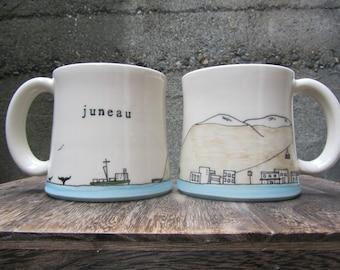 MADE TO ORDER ~ Juneau Mug