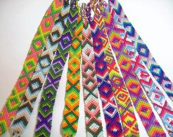 Multicoloured Friendship Bracelet (6 colours)
