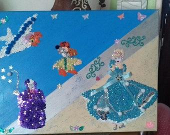 pretty picture disnez Cinderella theme