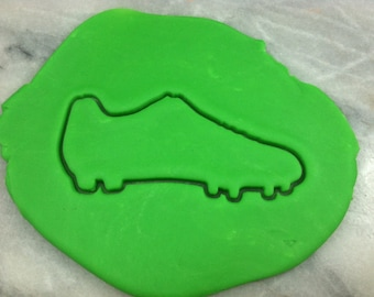Soccer Cleat Outline Cookie Cutter - SHARP EDGES - FAST Shipping - Choose Your Own Size!