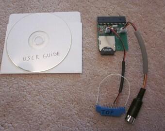 Commodore 64 Computer SD2IEC SD Card Disk Drive +JiffyDOS Manual