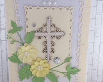 Handmade First Holy Communion Card