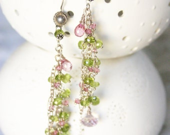 50% OFF SALE Madana Mohini /// earrings by Jhumki Luxe - designs by raindrops