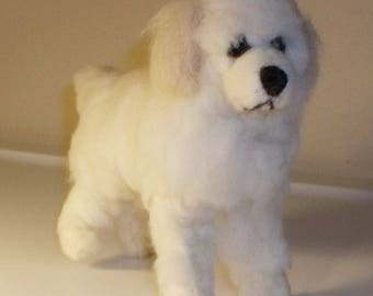 Needle Felted Great Pyrenees