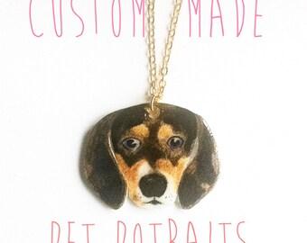 Personalised Pet brooch or pendant