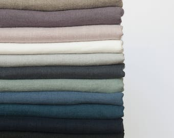 Linen Fabric by meter,Softened linen fabric by yard,Natural Linen Fabric,Stonewashed Linen Fabric,Washed Linen Fabric,Pure 100% Linen Fabric