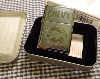 Retired 2004 Chevrolet Chrome Zippo Lighter