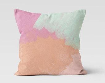 Pastel Throw Pillow - Decorative Pillow - Home Decor - Ice Cream Decor - Pillow Case