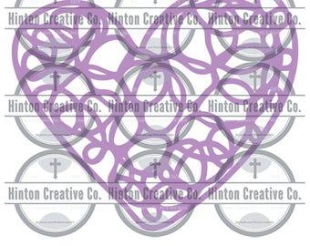 Purple Heart Strings Digital Files