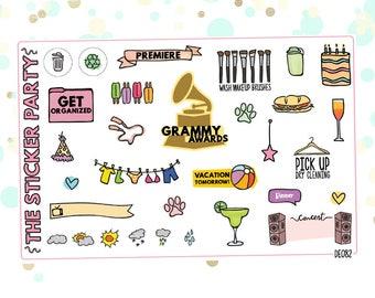Best Sellers VOL2 Planner Stickers Sampler Sheet