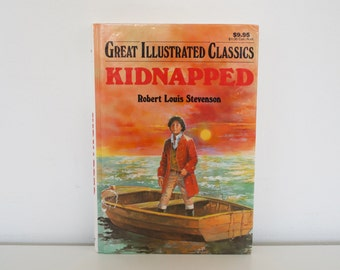 S A L E Kidnapped (1992) - Great Illustrated Classics book