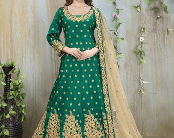 New Designer Bollywood Indian/Pakistani Anarkali  / Bollywood salwar kameez /Chudidar Duptta /