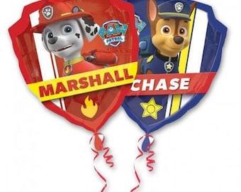 25 inch Chase Marshall Paw Patrol Balloon