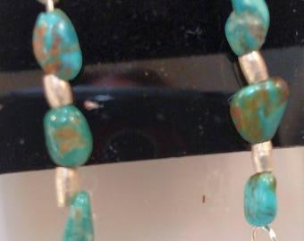 35-Turquoise Earrings