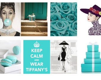 Breakfast at Tiffany Planner Stickers