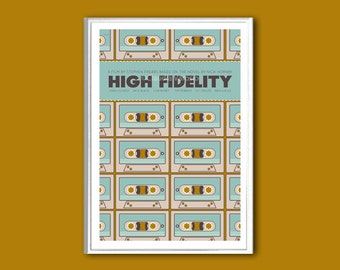 Movie poster High Fidelity print in various sizes