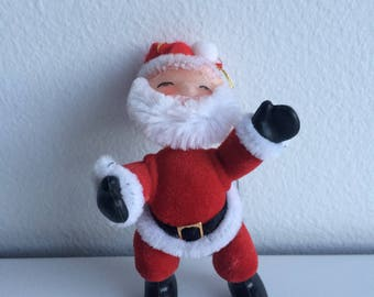Vintage Christmas Santa Ornament Holiday Decor