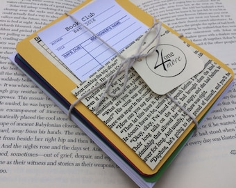 Library Card Book Club Notecards Save the Date Teacher Gift Book Nerd Stationary
