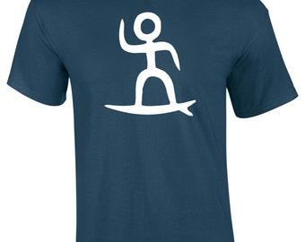 Mens Surf iSURF Surf Board T-Shirt S M  L XL XXL