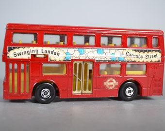 Matchbox Lesney King SizeK-15 London Bus Carnaby Street