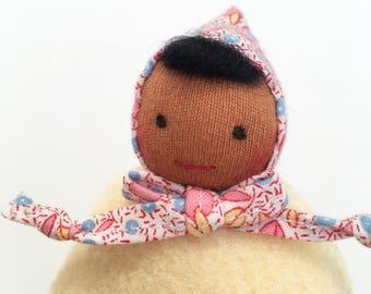 Waldorf Pocket Doll, Small Waldorf Doll, Waldorf Baby Doll, Waldorf Toys, Gift for Kids, Soft Doll, Handmade Dolls, Handmade Toys