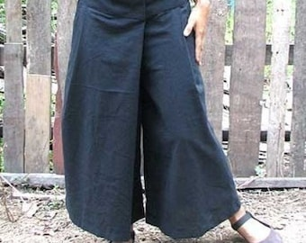 Wrap Pants // Summer Pants //  Low waist Pants p1433