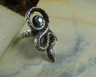 Sacred Serpent Ring