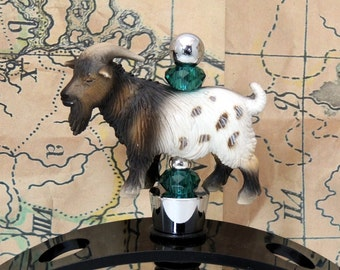 Pygmy Goat  Buck Billy Goat  Wine Stoppers Gift  Farm Animals discontinued