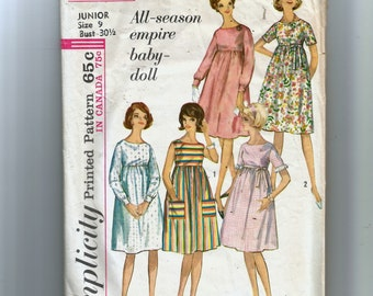 Simplicity Misses' and Juniors' One-Piece Dress Pattern 5404