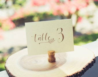 Table Card Horizontal - Design