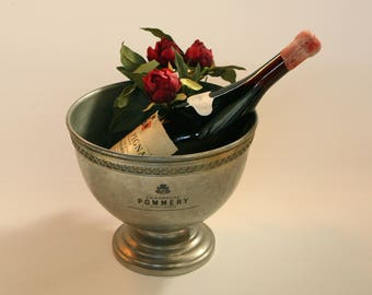 Vintage French Pommery Champagne cooler ice bucket