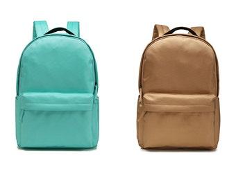 Nylon Backpack,Rucksack,Travel Bag,School Bag, Backpack,School Backpack 8 Colors