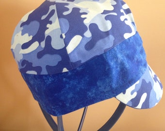 Oxford blue camo hat