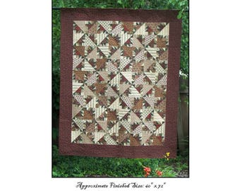 Ode To Kansas Quilt Pattern PDF Reproduction Traditional Style QRD368