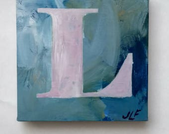 L-2 an original acrylic painting on canvas by JLF.