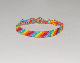 Kids multicolor Rainbow fantasy Brasilda Rainbow Friendship Bracelet