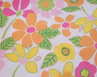 Boutique Euro Floral Sorbet Fabric 1 yard