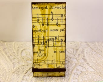 iPhone stand iPhone holder wooden holder wood cell phone stand cell phone holder gift for musician gift for music lover gift for musical dad