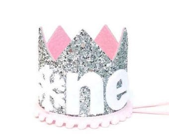Winter Onederland Crown || First Birthday Outfit || Winter Wonderland || First Birthday Girl Outfit