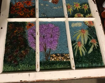 Mosaic Window- Summer
