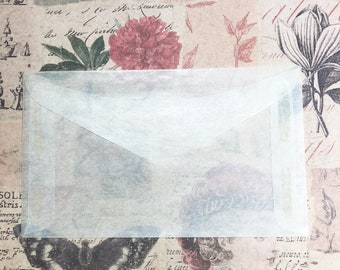 Glassine Envelopes, #3, 2.5x4.25