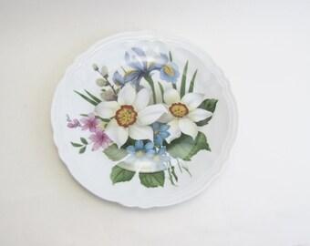 Rochard Limoges Floral Plate France